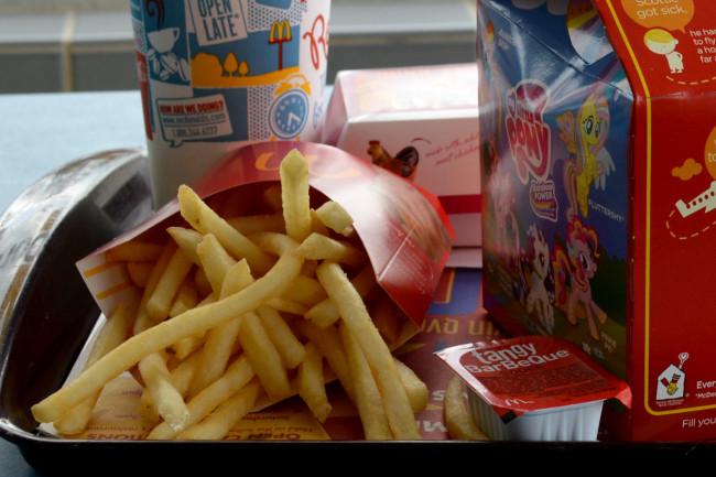 Mcdonalds food questions fries