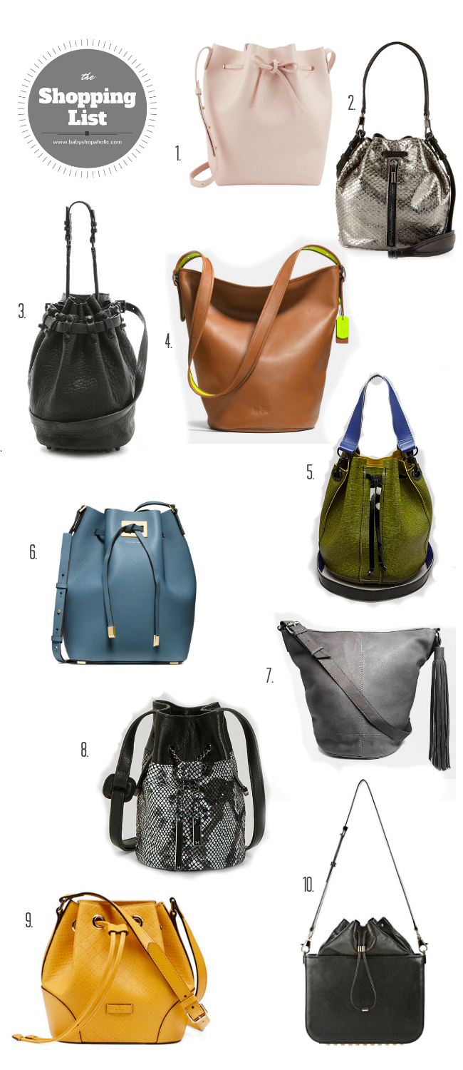 bucket bag shopping list 2