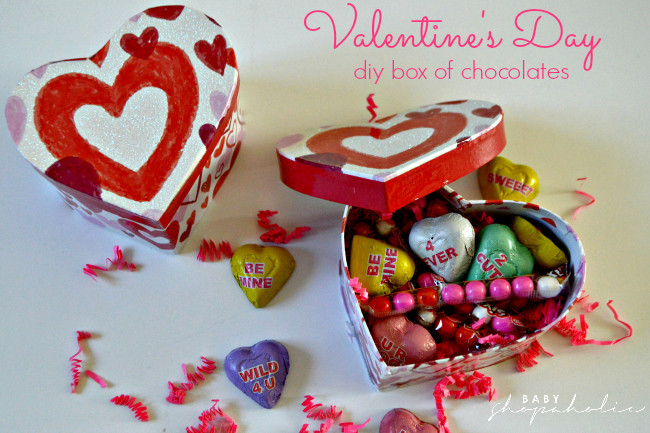 how to make homemade chocolate valentines