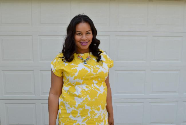 Easter gap dress 2