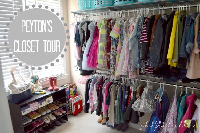 Peyton closet tour 1
