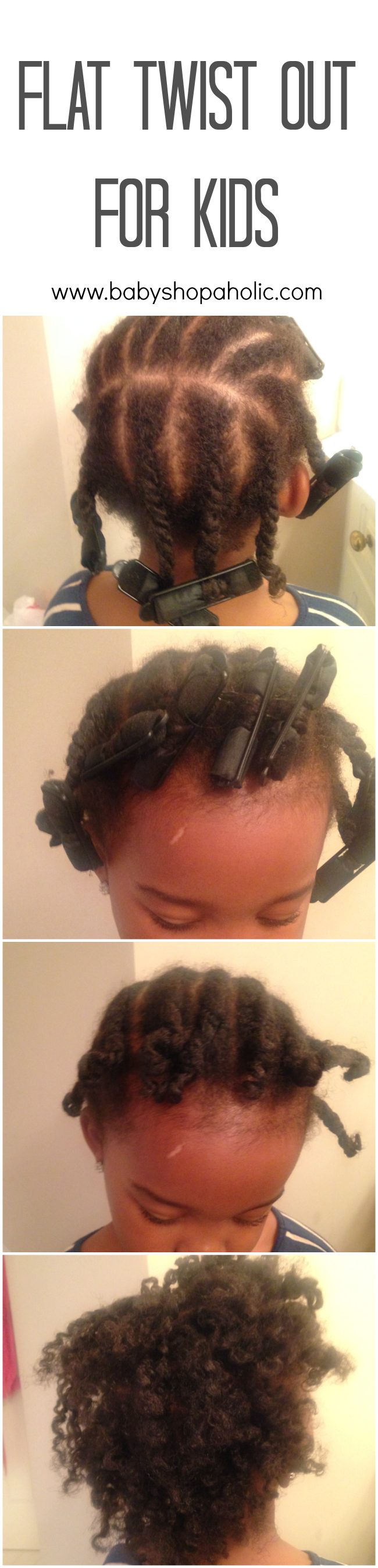 Flat Twist Out Tutorial For Kids With Eden Kids