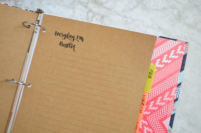 Blog binder 3