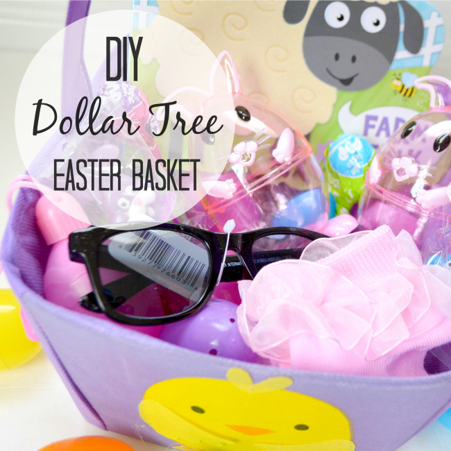 Diy dollar tree easter basket negle Image collections