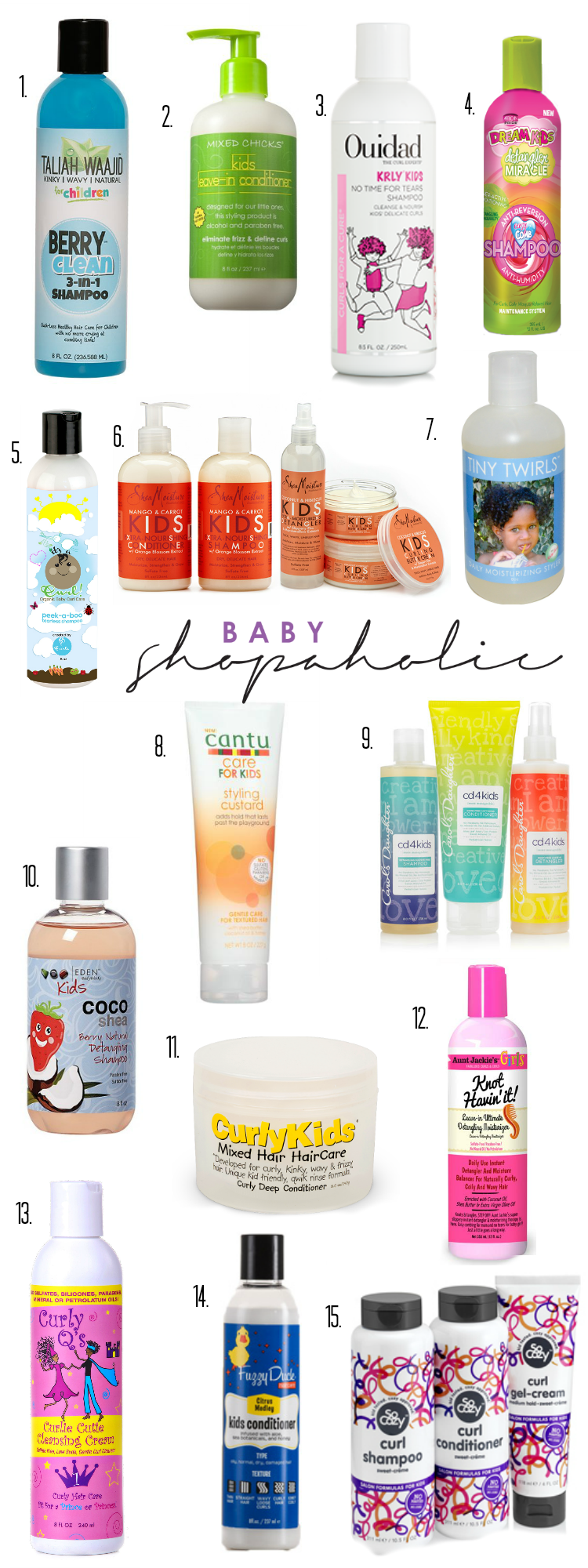 baby hair care products for curly hair online