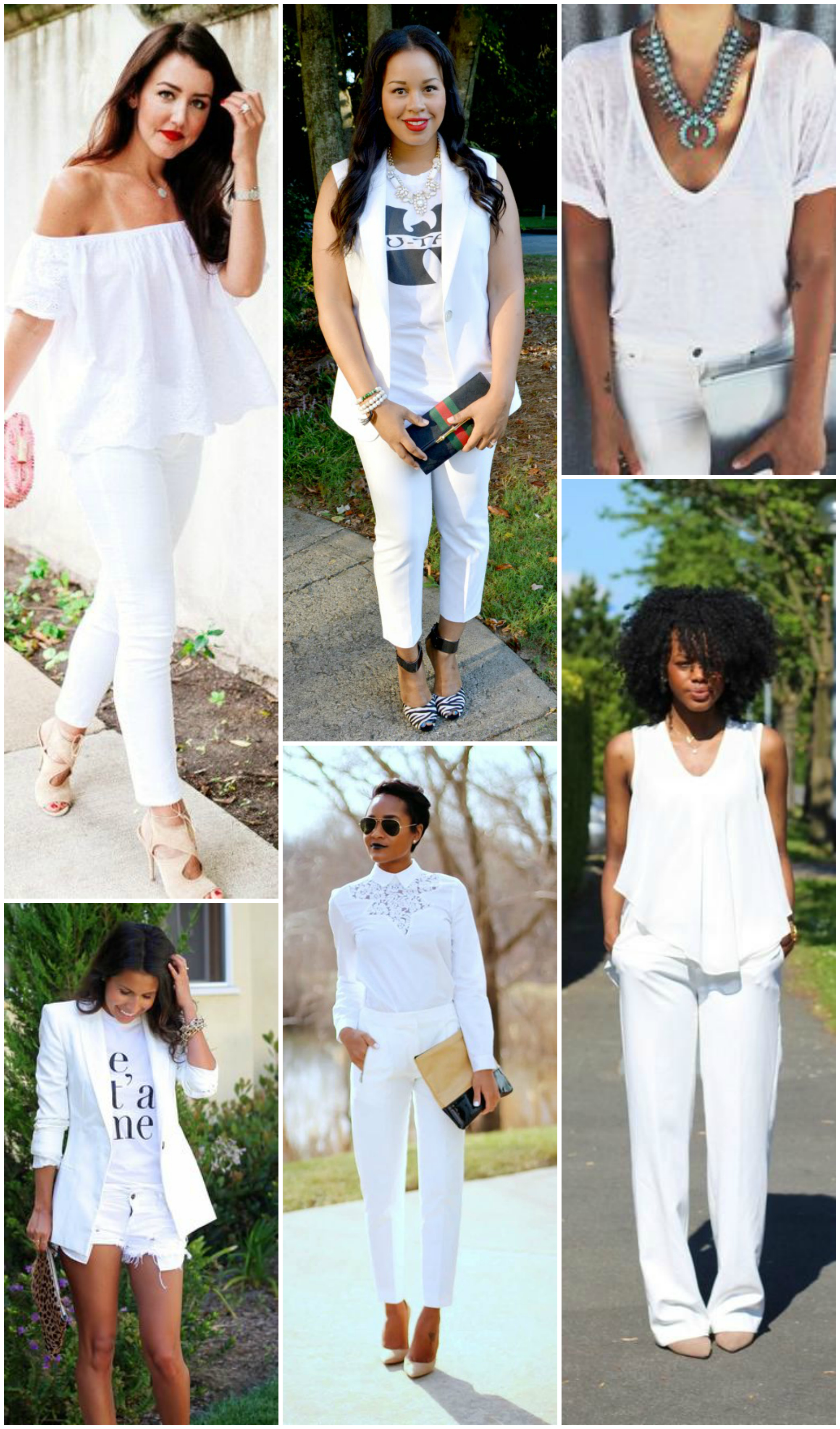all white outfits you already own  baby shopaholic