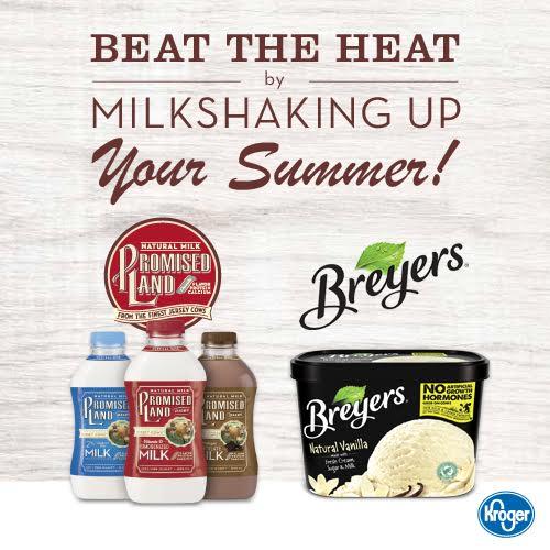 Kroger Promised Land Breyers Milkshake