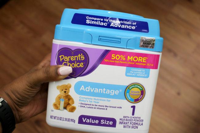 Parent's Choice Advantage Formula