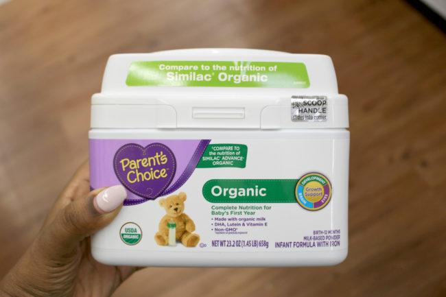 Parent's Choice Organic Formula