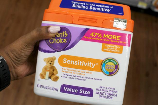 Parent's Choice Sensitivity Formula