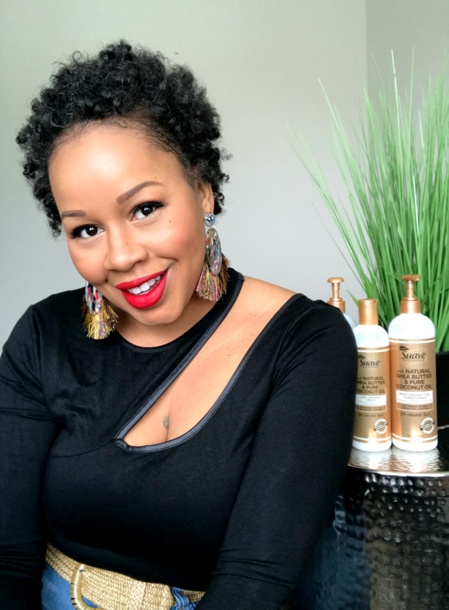 Spring Cleaning My Hair With Suave Natural Hair Collection Hey Trina